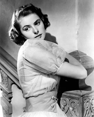 Ingrid Bergman Art Print by Silver Screen