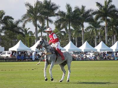 Photograph - International Polo Club by Ron Davidson