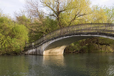 Outdoor Graphic Tees - Iron Bridge by Gary Marx