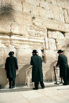 Western Wall Photograph - Israel, Jerusalem by David Noyes