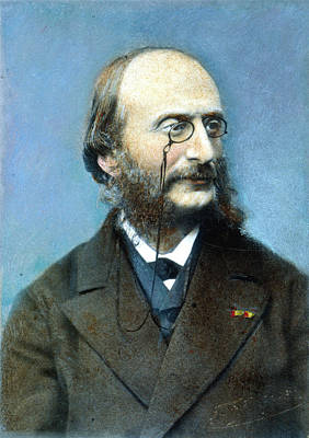 Jacques Offenbach (1819-1880) Art Print by Granger