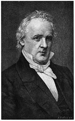 Democrat Painting - James Buchanan (1791-1868) by Granger