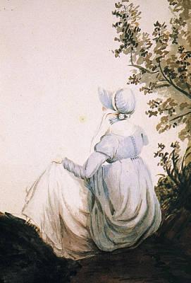 Novelist Painting - Jane Austen (1775-1817) by Granger