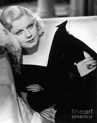 Movie Photograph - Jean Harlow by MMG Archive Prints