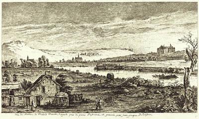 1736 Drawing - Jean-jacques De Boissieu, French 1736-1810 by Litz Collection