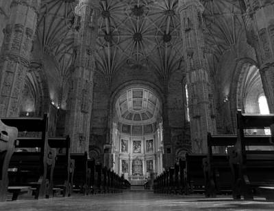Photograph - Jeronimos Monastary by Luis Esteves