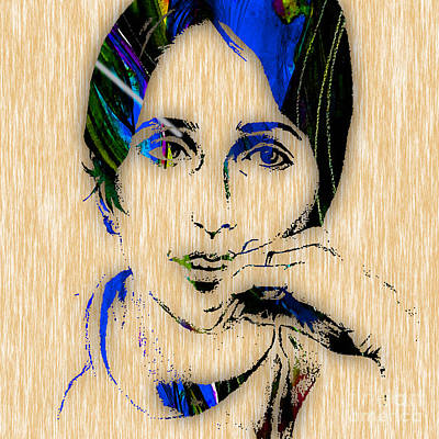 Poster Mixed Media - Joan Baez Collection by Marvin Blaine