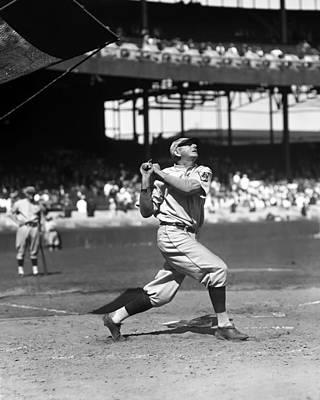 Philadelphia Phillies Stadium Photograph - John W. Jack Scott by Retro Images Archive