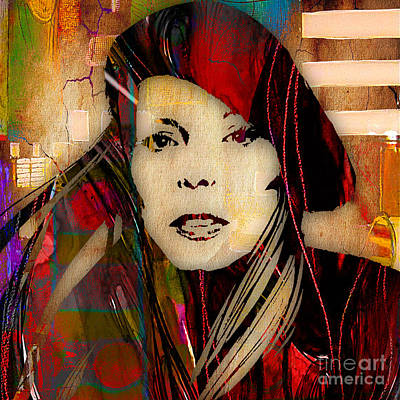 Joni Mitchell Mixed Media - Joni Mitchell Collection by Marvin Blaine