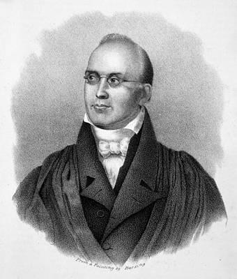 Lapel Painting - Joseph Story (1779-1845) by Granger