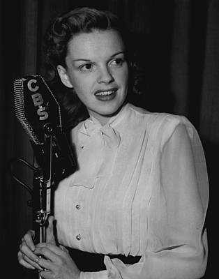 Wizard Of Oz Photograph - Judy Garland by Retro Images Archive