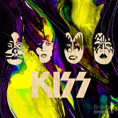 Kiss Collection Art Print by Marvin Blaine
