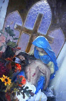 La Pieta Tijuana Mexico 2010 Original by John Hanou
