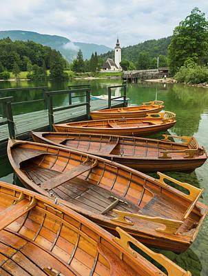 Lake Bohinj, Slovenia Art Print by Ken Welsh