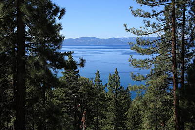 Photograph - Lake Tahoe by Frank Romeo