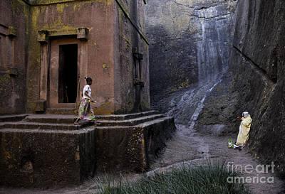 Photograph - Lallibela Lalibela Lalibella Ethiopia Rock Hewn Ancient African  by Jacek Malipan