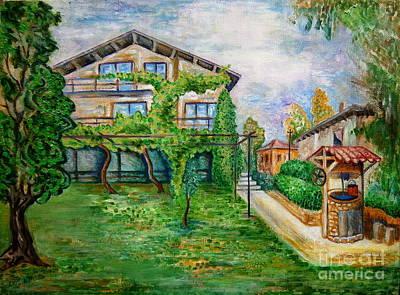 Landscape Art Print by Milen Litchkov
