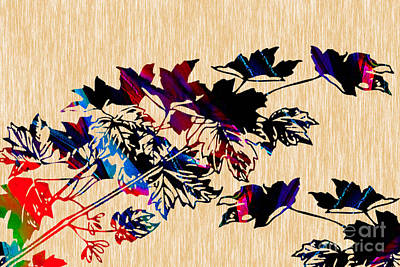Leaves Painting Art Print by Marvin Blaine