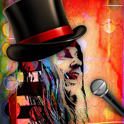 Leon Russell Collection Art Print by Marvin Blaine