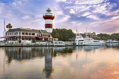 Lighthouse On Hilton Head Island Art Print