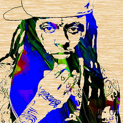 Lil Wayne Collection Art Print by Marvin Blaine