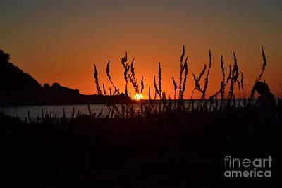 Photograph - Linda Mar Beach At Sunset by Dean Ferreira