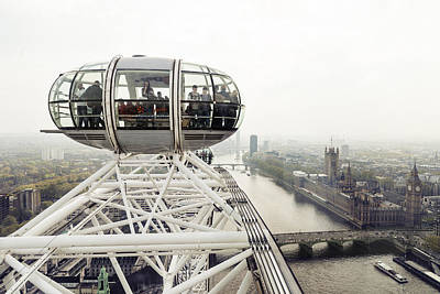 Photograph - London Eye by Alfio Finocchiaro