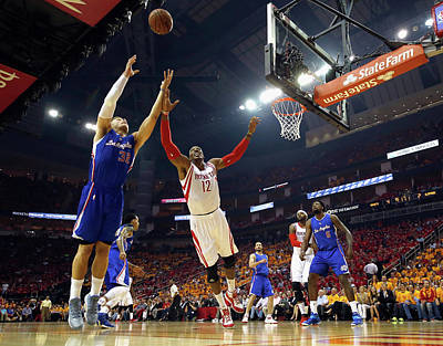 Photograph - Los Angeles Clippers V Houston Rockets by Scott Halleran