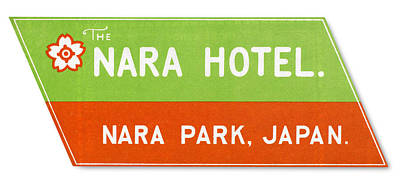 Photograph - Luggage Label by Granger