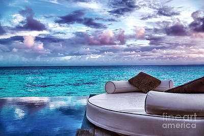 Photograph - Luxury Beach Resort by Anna Om