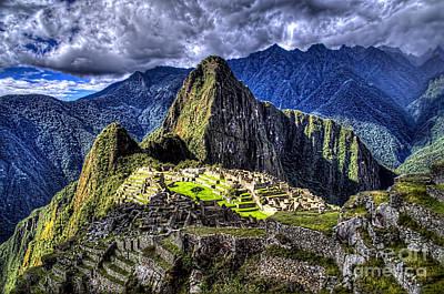 Machu Picchu - Peru Art Print