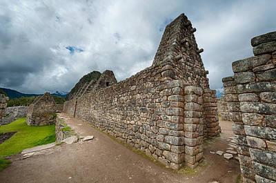 Photograph - Machu Picchu  by Ulrich Schade