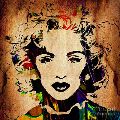Madonna Mixed Media - Madonna Collection by Marvin Blaine
