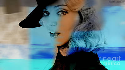 Madonna Mixed Media - Madonna by Marvin Blaine