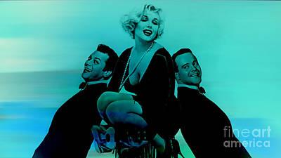 Marilyn Monroe Mixed Media - Marilyn Monroe by Marvin Blaine