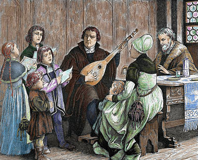Lute Photograph - Martin Luther (eisleben, 1483 by Prisma Archivo