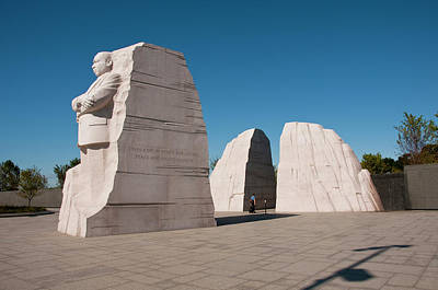 Marker Photograph - Martin Luther King Jr Memorial by Lee Foster