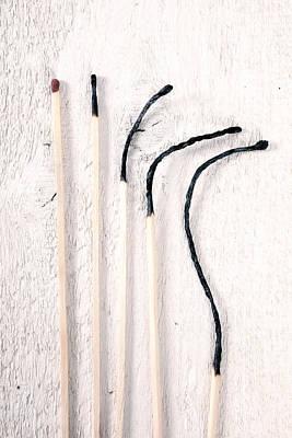 Matches Print by Joana Kruse