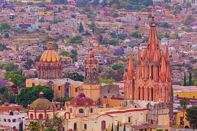 Miguel Photograph - Mexico, San Miguel De Allende by Jaynes Gallery