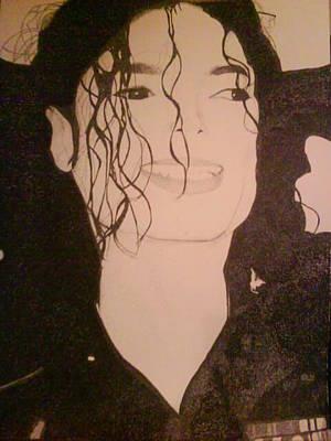 Young Michael Jackson Drawing - Michael Jackson by Milton  Gore