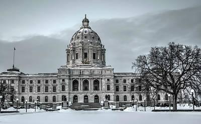 Minnesota State Capitol St Paul Art Print