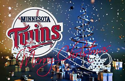 Baseball Photograph - Minnesota Twins by Joe Hamilton