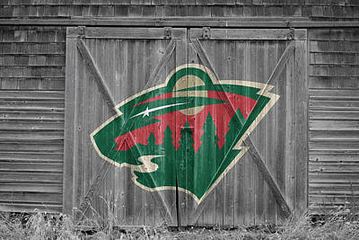 Hockey Photograph - Minnesota Wild by Joe Hamilton