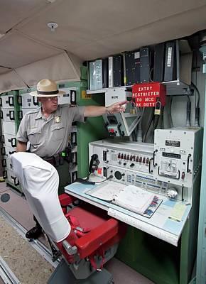 Destruction Photograph - Minuteman Missile Control Room by Jim West