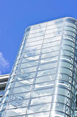 Capitalism Photograph - Modern Building by Tom Gowanlock