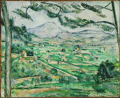 Victoire Painting - Mont Sainte-victoire by Mountain Dreams
