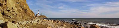 Photograph - Montauk Point Lighthouse by Alex Potemkin