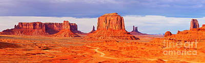 Photograph - Monument Valley by Brian Jannsen
