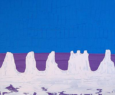 Painting - Monument Valley Original Painting by Sol Luckman