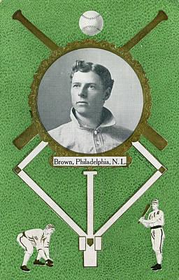 Chicago Baseball Drawing - Mordecai Brown (1876-1948) by Granger